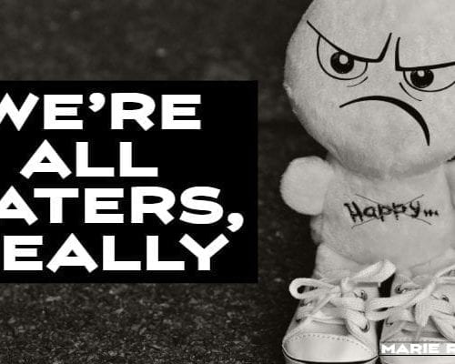we're all haters, really