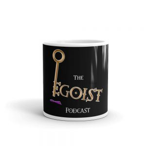 the egoist coffee mug